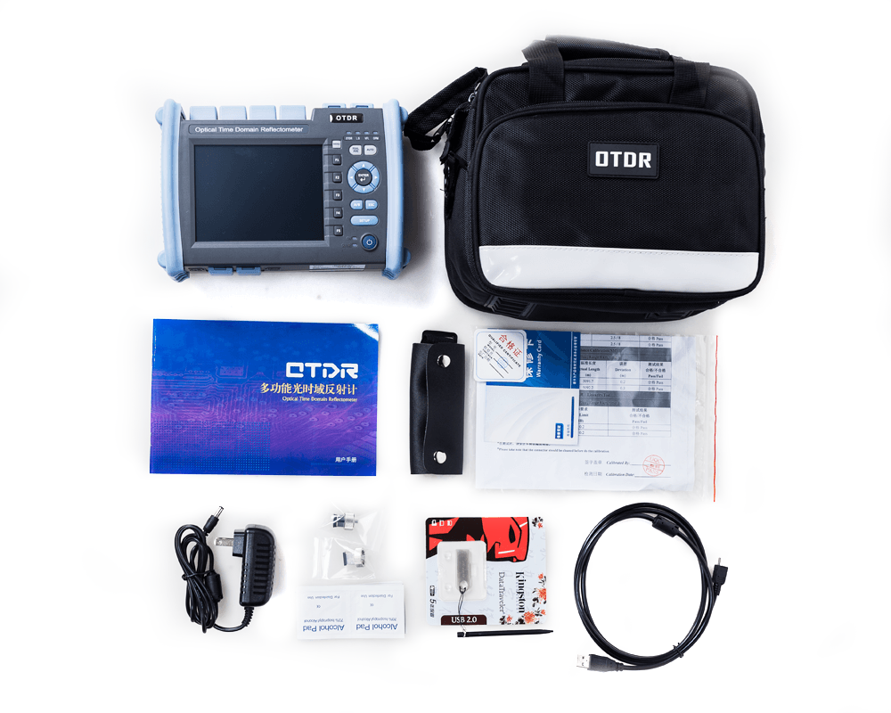 package of multi-functional OTDR - Optical Time Domain Reflectometer