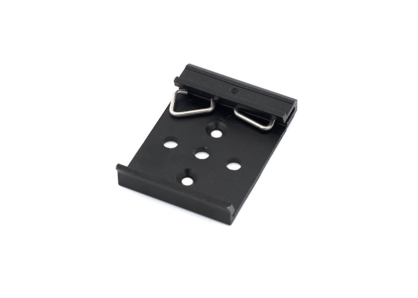 DIN Rail Clamp 35mm for Fiber Box, LIU