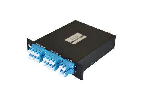 8 Channel CWDM Mux/Demux Module, LC/UPC, Expansion Port, LGX Type