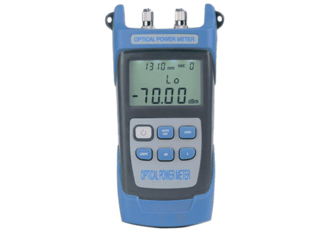 Smart Handheld Optical Power Meter, Red Light & Stable Laser Source Integrated