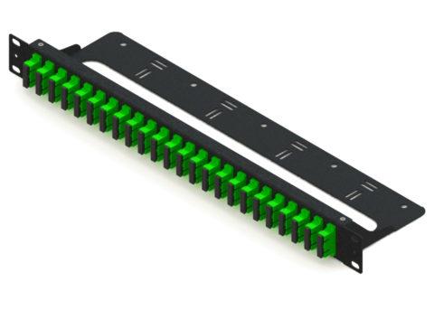 1U Rack Mount Fiber Patch Panel SC 48 Port, with Cable Management