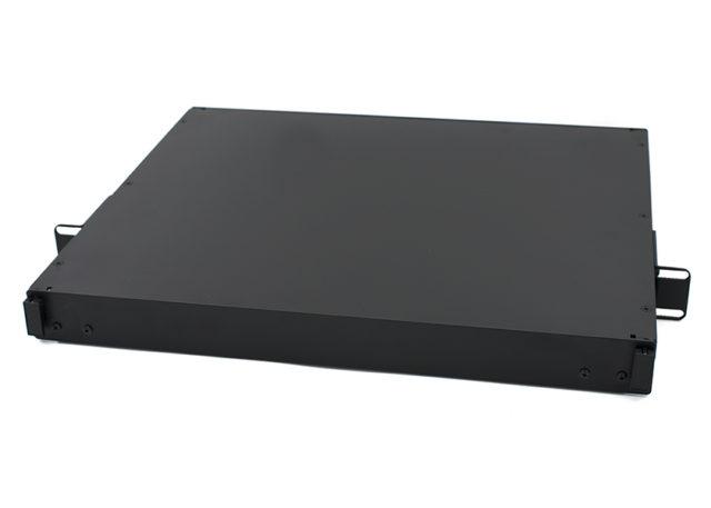 RMFE-L1U3P 1U rack mount fiber enclosure 3 LGX adapter panel