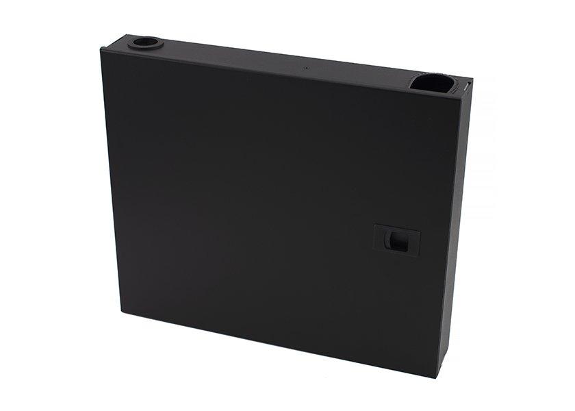 2-panel wall fiber enclosure SC, LC, ST, FC