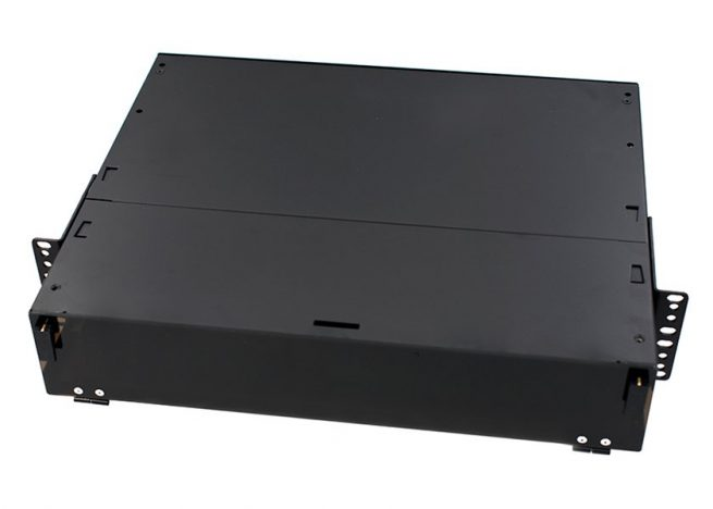 2U rack mount fiber optic patch panel 24, 48, 72 96 port, LGX