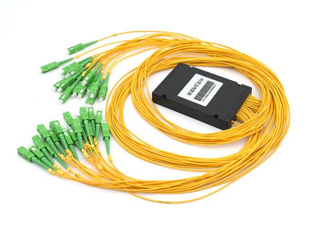 ABS box type 2x32 PLC Fiber Splitter, SC/APC Connectors