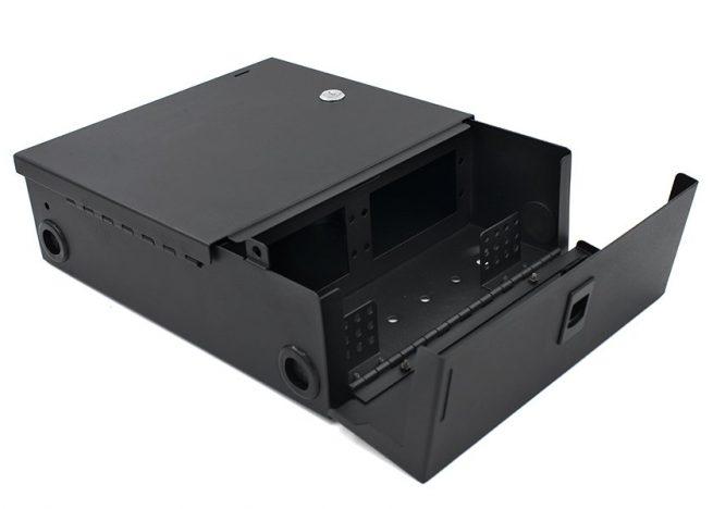 Wall Mount Fiber Enclosure, 2 / 4 LGX Adapter Panels