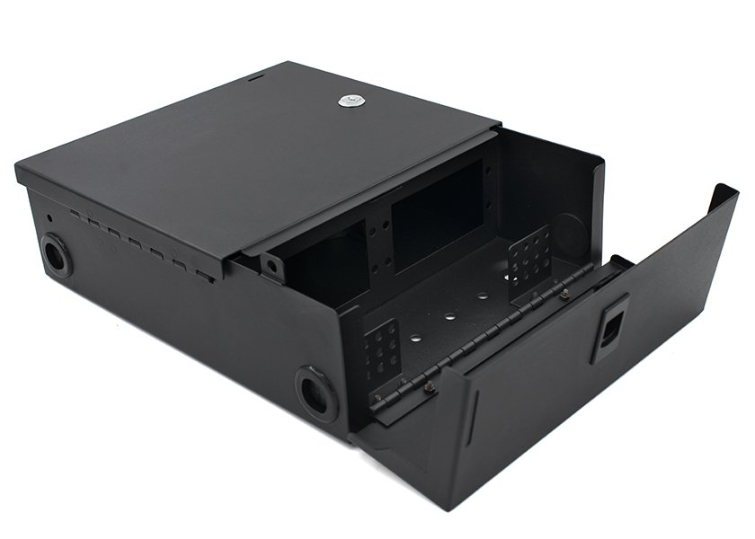 Wall Mount Fiber Enclosure, 2 / 4 LGX Adapter Panels