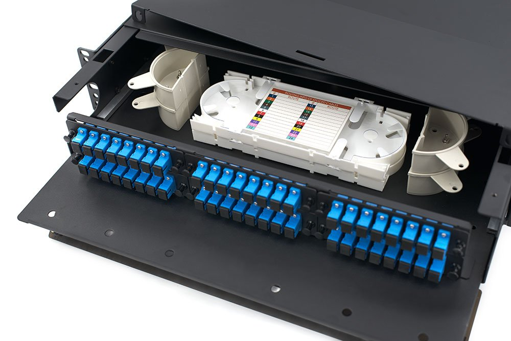 8 Port SC Adapter Panel in Fiber Patch Panel