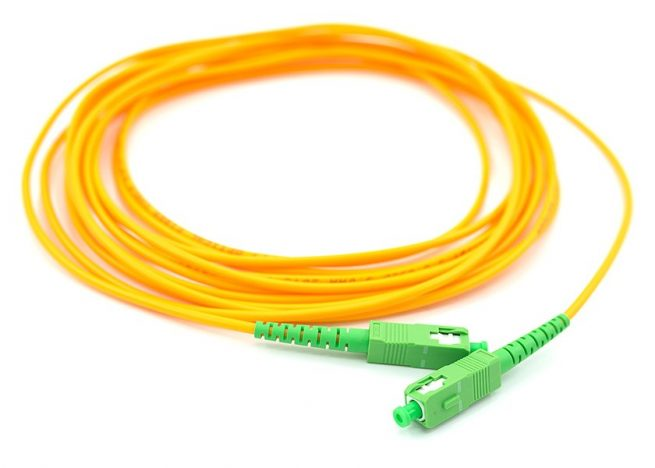 SC/APC - SC/APC Single Mode Fiber Patch Cord Simplex