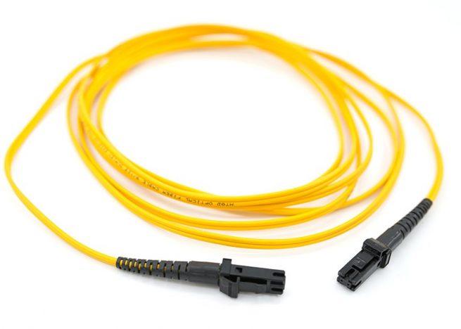 MTRJ Single Mode Fiber Optic Patch Cord, patch lead, jumper cable