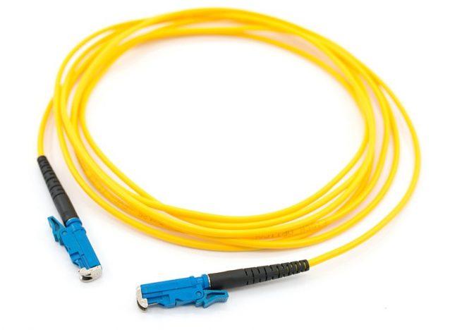 E2000-E2000 Fiber Optic Patch Cord, Single Mode Fiber Cable