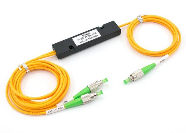 FWDM Module 1310nm 1490nm 1550nm, FC/APC, ABS Box Type