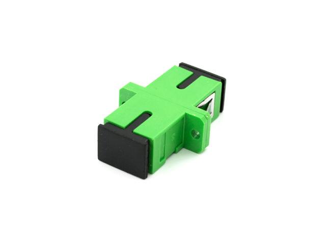 SC APC Fiber Optic Adapter Single Mode Simplex
