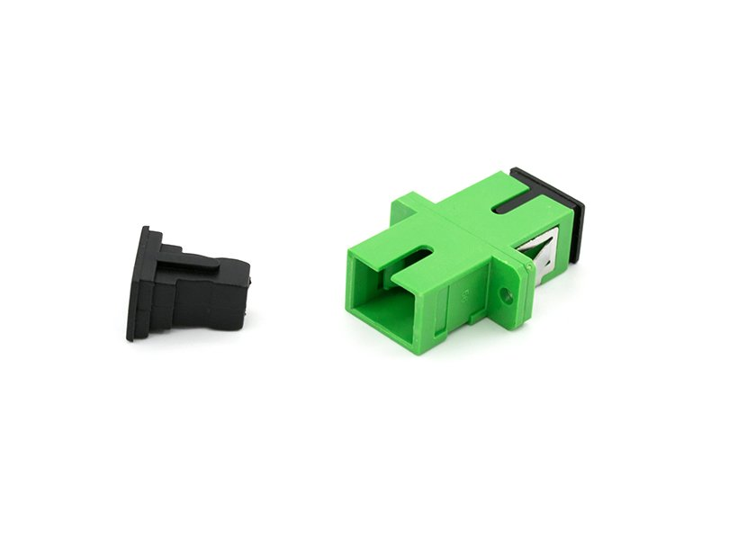 SC APC Fiber Optic Adapter Single Mode Simplex fiber coupler