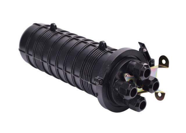 Dome Fiber Optic Splice Closure, 4 Cable Ports, Mechanical Seal