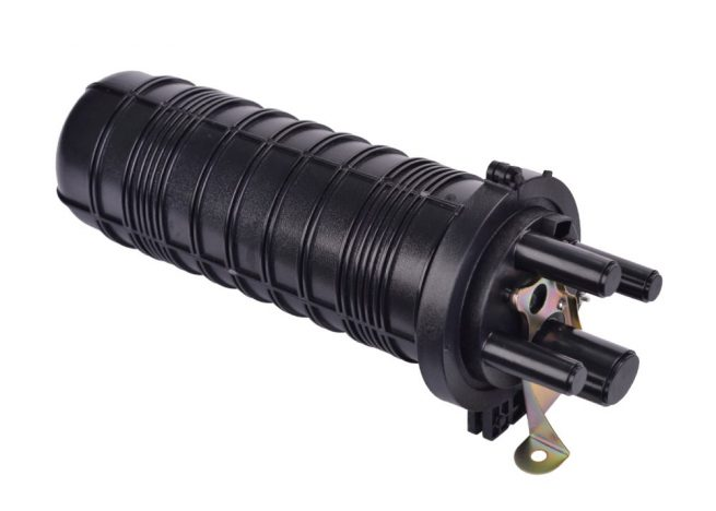 Dome Fiber Optic Splice Closure 96 Cores, 4 Cable Inlets/Outlets, Shrink Tube Seal