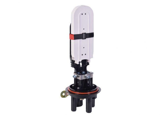 Dome Fiber Optic Splice Closure 96 Cores, 4 Cable Entry Ports