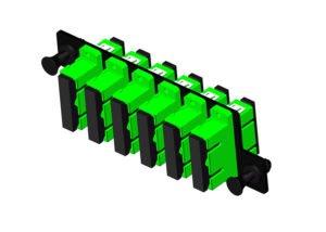 High Density Fiber Adapter Panel, SC 12 Port