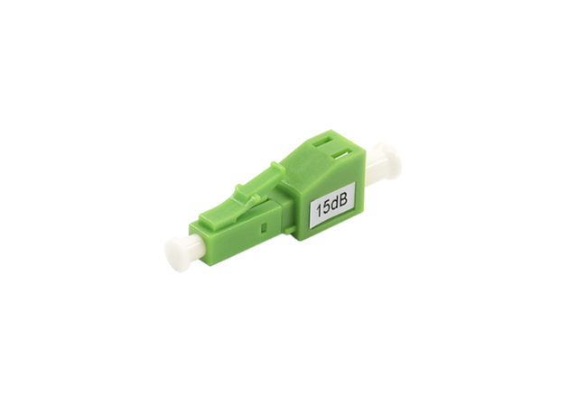 LC APC Fiber Attenuator, Single-mode, Male/Female