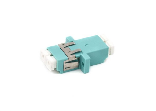 LC OM3 Adapter, Duplex Coupler, Anti-shake Clip