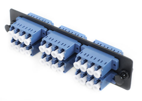 LC Fiber Adapter Panel 24 Port, Single Mode fiber adapter plate