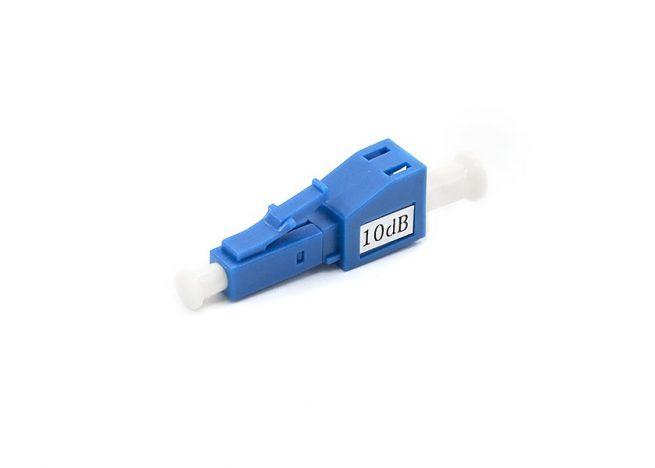 Single-mode LC Fiber Attenuator, Male to Female