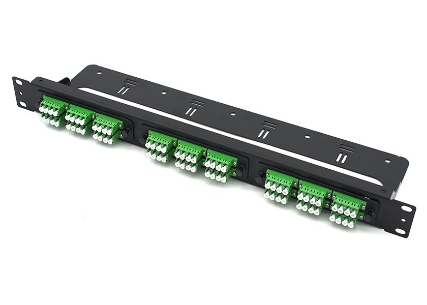 straight-through 1U fiber patch panel LC 72 port