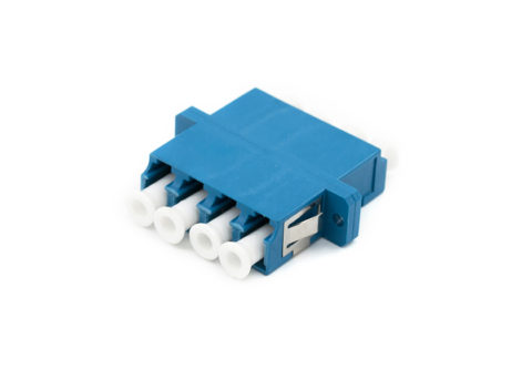 LC Quad Fiber Adapter Single-mode