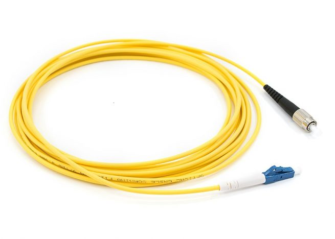 LC-FC Fiber Optic Patch Cord Single Mode Simplex cable