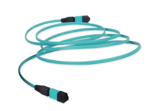MTP-MTP fiber patch cable, MPO fiber trunk patch cord