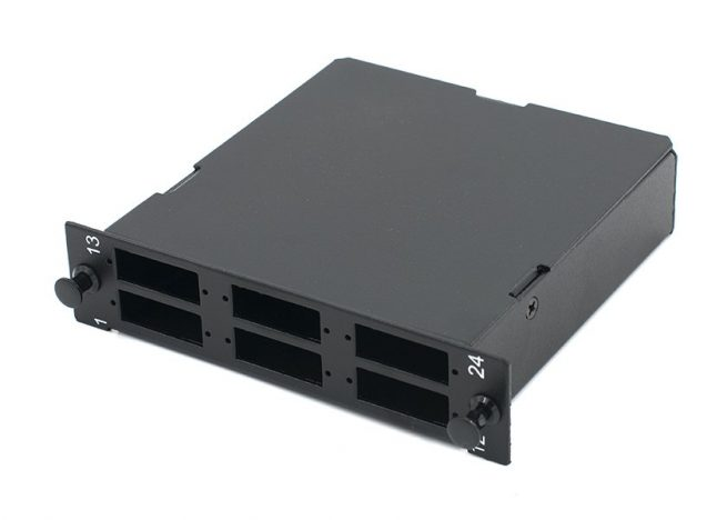 MPO-LC Fiber Cassette Module 12/24 Port, LGX Footprint