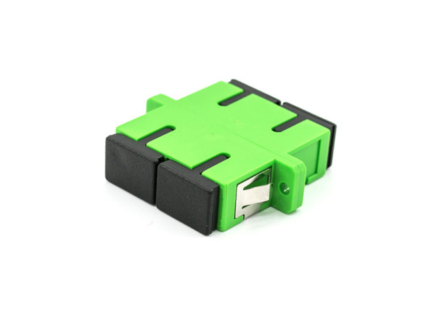 SC single mode duplex fiber optic adapter, coupler