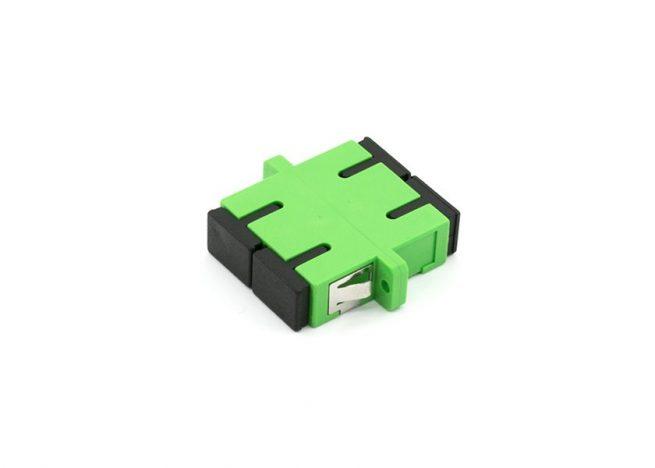 SC/APC Single-mode Fiber Adapter Duplex