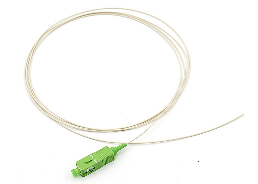 SC/APC Single Mode Pigtail, Bend Insensitive Fiber Cable