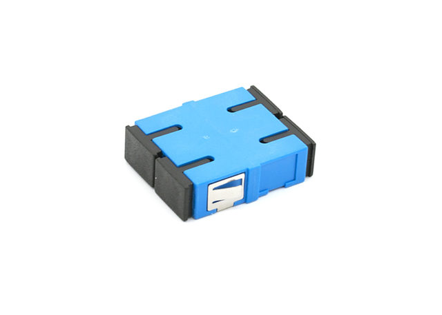 SC Duplex Fiber Optic Adapter Singe-mode, Short Flange