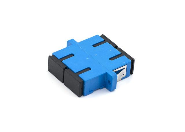 SC Duplex Fiber Optic Adapter Single-mode