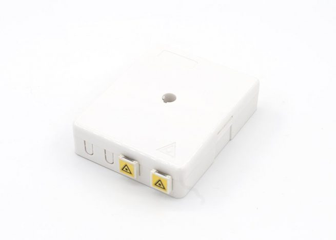 Surface Mount Wall Outlet Fiber Termination Box FOB-P0810