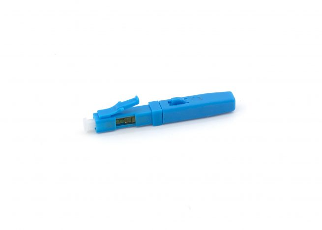 LC Field Assembly Fast Connector for Fiber Drop Cable