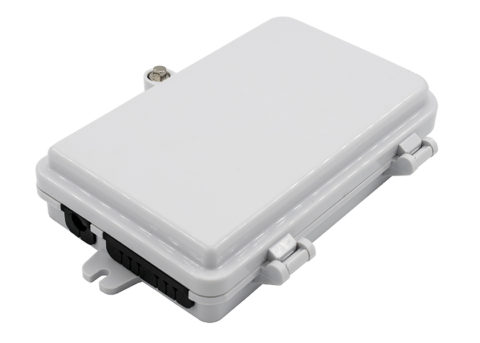 wall / pole mounting 4 port fiber distribution box hub