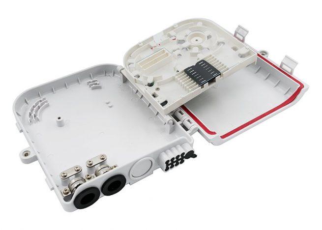 SC 8 port fiber optic distribution box, distribution hud, splitter box