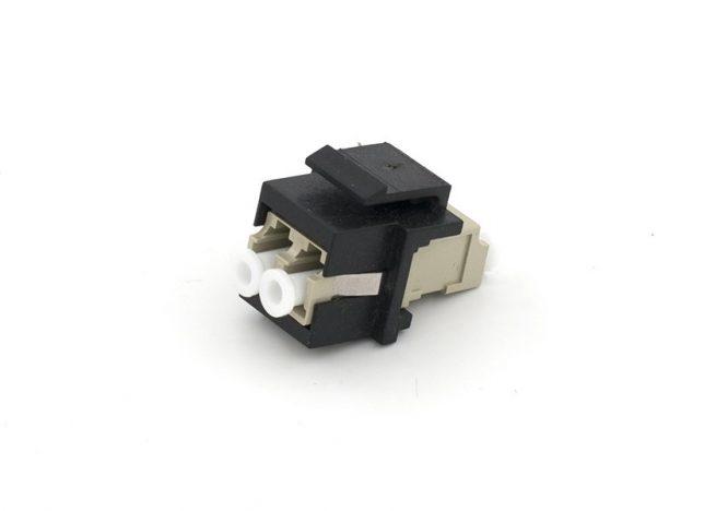 LC Fiber Keystone Jack Module Multimode