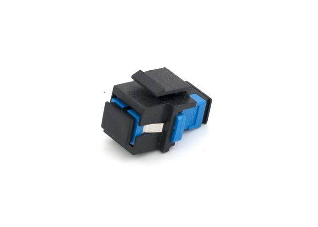 SC Fiber Optic Keystone Jack Single-mode