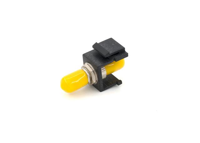 ST Fiber Keystone Jack Module