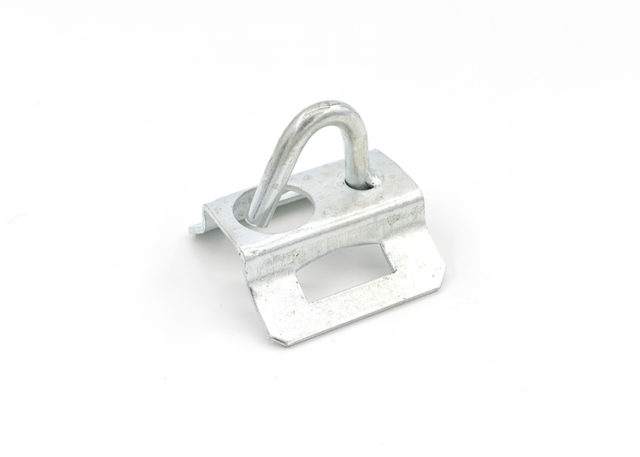 Pole Mounting Bracket for FTTH Drop Cable Wire Clamp