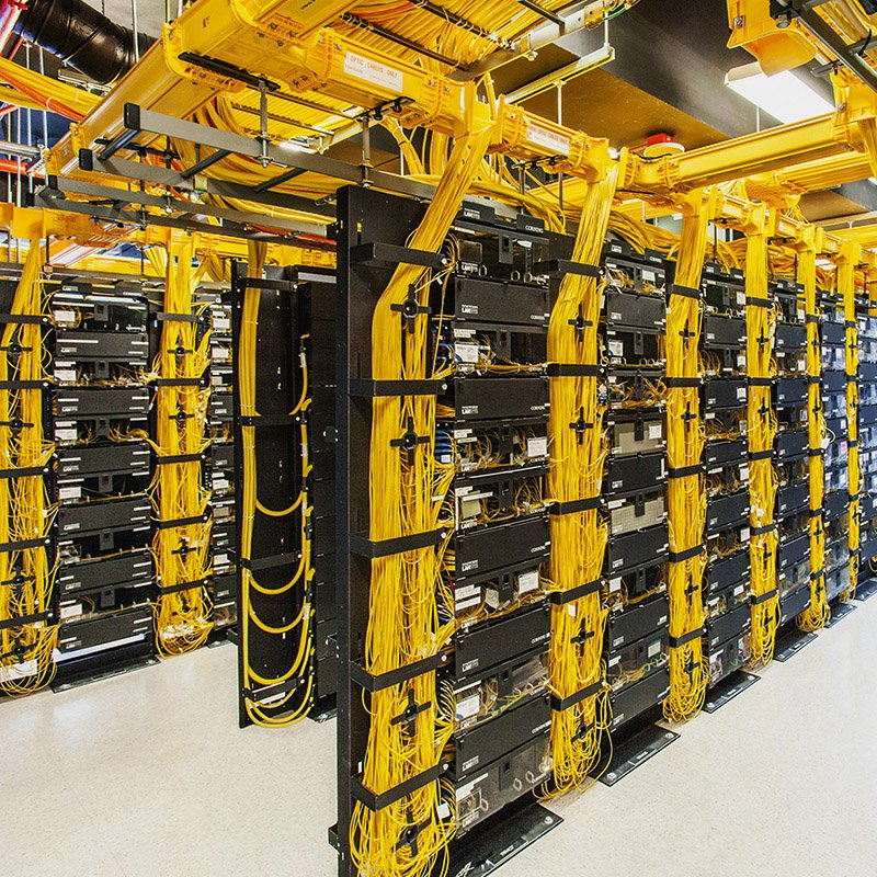 Data Center Fiber Cable Management, Cabling Solutions