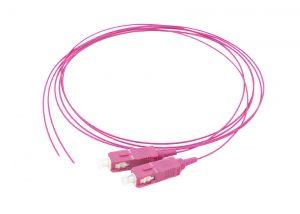 SC OM4 fiber pigtails